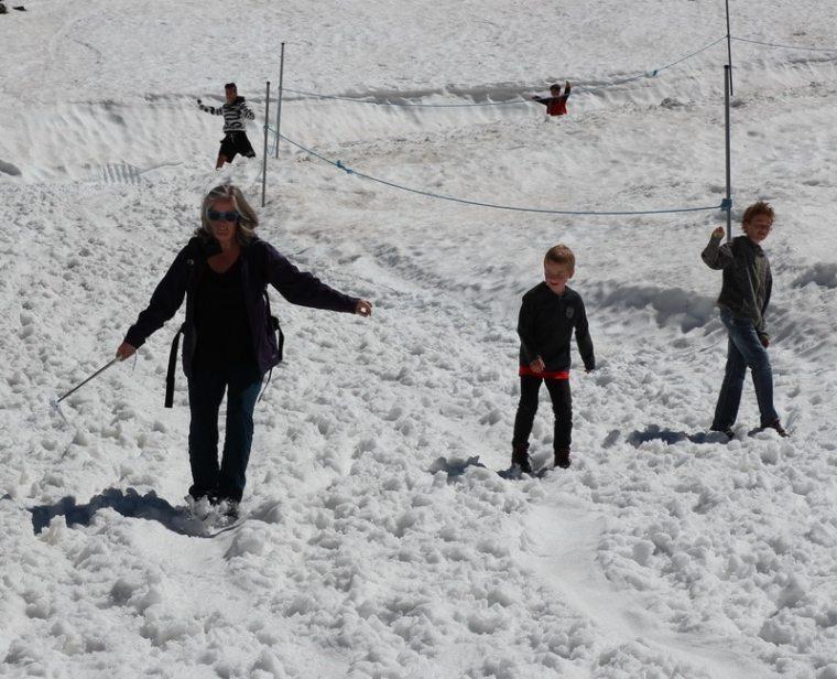 Kitzsteinhorn: Schnee im Sommer