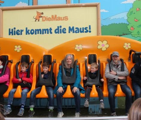 Muttis Nähkästchen im Ravensburger Spieleland