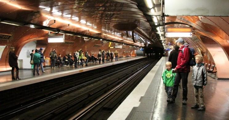 Paris mit Kindern: U-Bahn-Station Arts et Metiers