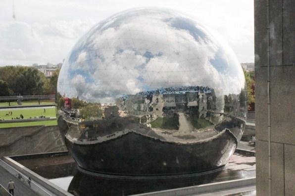Paris mit Kindern: Cité des Sciences et de l'Industie | La Geode