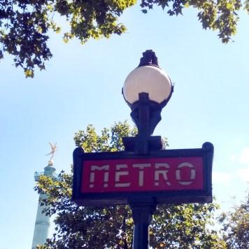Paris mit Kind | Metro fahren