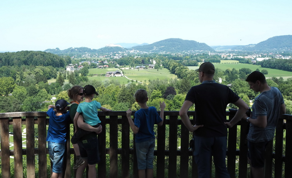 Hellbrunn: Stadtblick