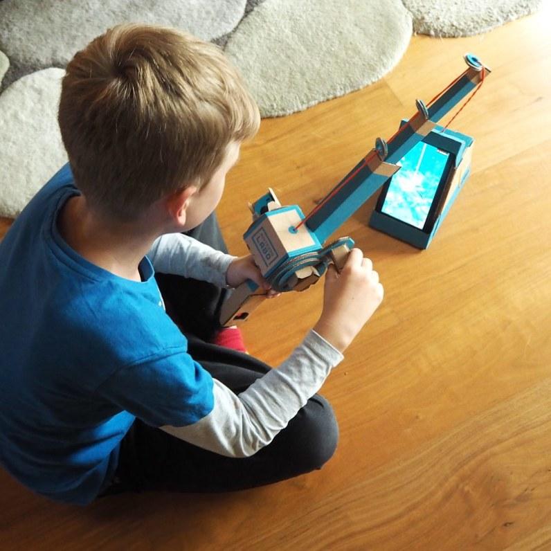 Nintendo Labo angeln