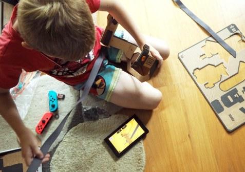Nintendo Labo: Making of