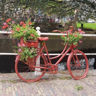 Delft mit Kind: Hollandse Fiets