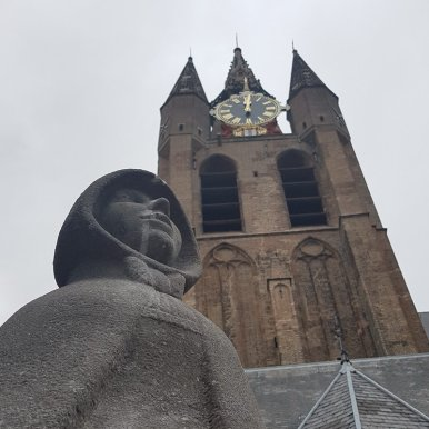Delft mit Kind: Oude Jan