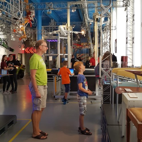 Delft mit Kind: Science Center der TU Delft