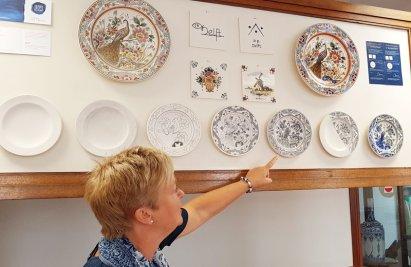 Entstehungsschritte der Delfter Keramik