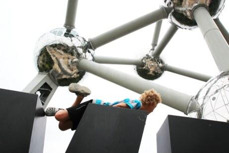 Brüssel mit Kind: Atomium
