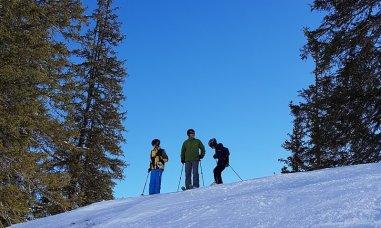 Erfahrungsbericht Skifahren mit Kind am Bewegungsberg Golm, Montafon