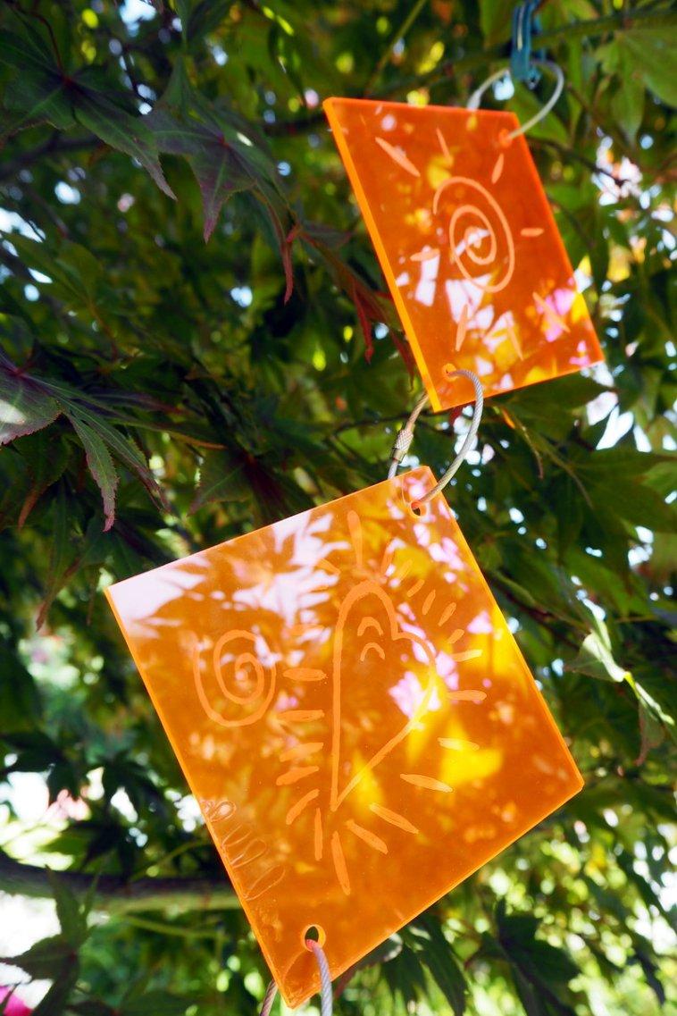 DIY Sun Catcher: Selbstgemachter Sonnenfänger aus Plexiglas - Anleitung