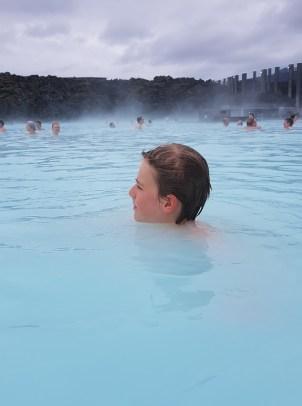 Island mit Kind: Reykjanes, Blue Lagoon