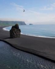 Island mit Kindern: Ringstraße Süden: Schwarzer Strand Reynisfjara