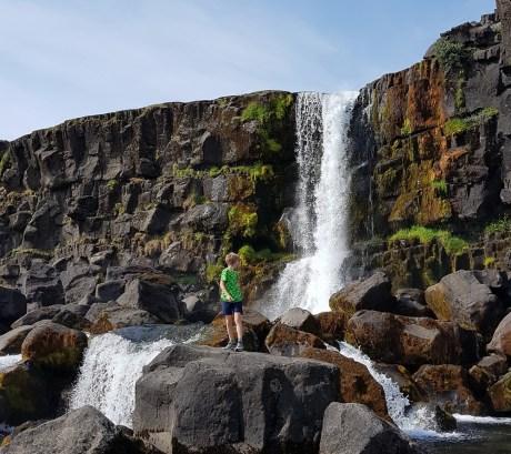 Island mit Kind: Nationalpark Thingvellir