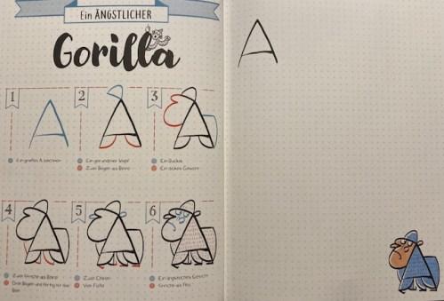 Gorilla aus A