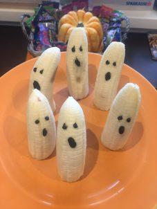 Gespenster als Halloween Snack