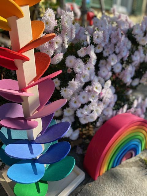 Regenbogen und Klangbaum