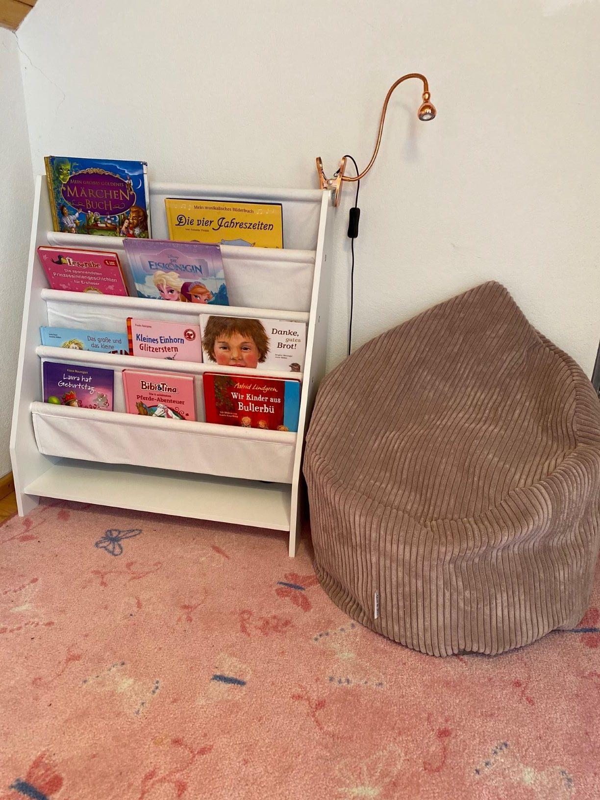 Leseecke für die Kindergartenmaus
