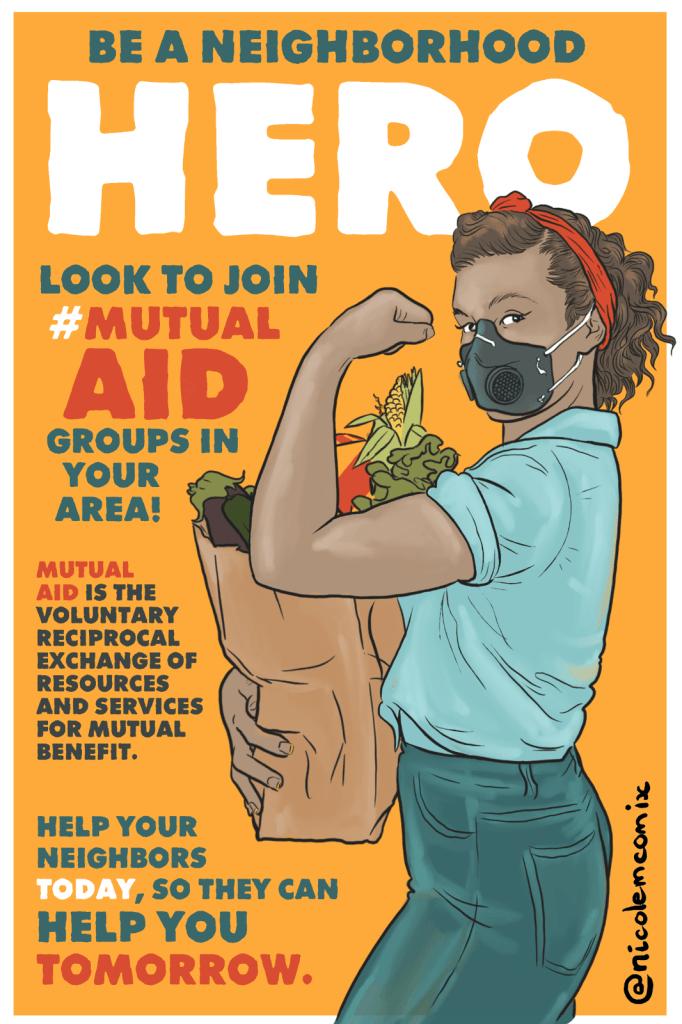 پڑوس کے ہیرو بنیں۔ اپنے علاقے میں باہمی امدادی گروپوں میں شامل ہونے کے ل. دیکھیں۔