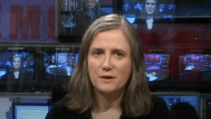 Amy Goodman em 'Democracy Now!' (Democracia agora!)