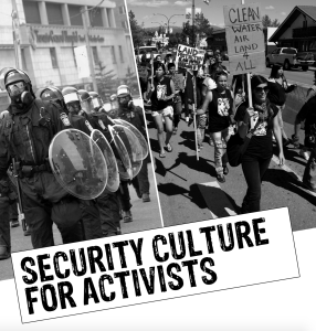 Ruckus Security Culture For Activists