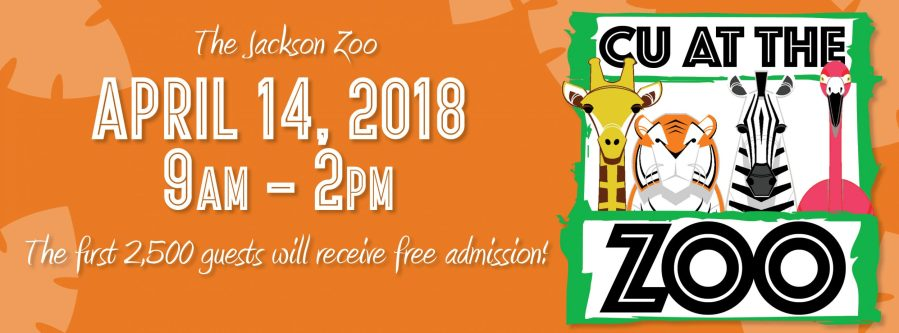 CU at the Zoo April 14th, 2018