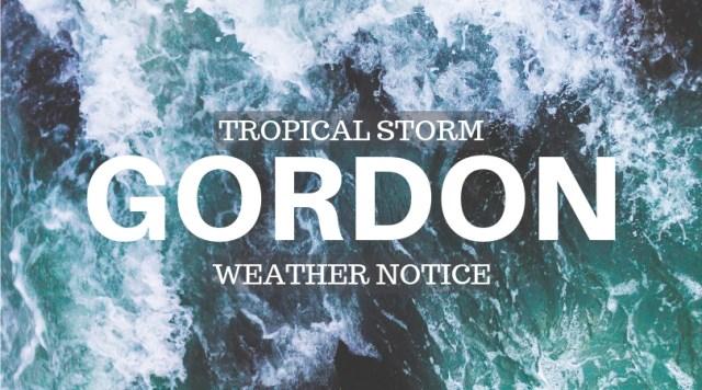 GORDON nOTICE