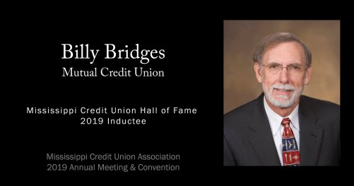 Billy Bridges Hall of Fame