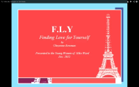 FLY With Me: My Self Worth Program