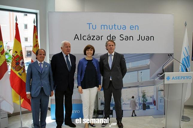 Asepeyo inaugura nuevo centro en Alcázar de San Juan