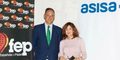 ASISA, aseguradora oficial de la Federación Española de Pádel