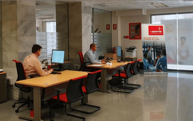 Oficina para corredores de Mapfre