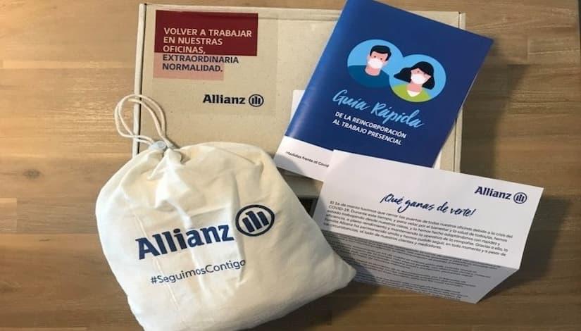 Allianz se une a sus clientes y mediadores en su vuelta a la #ExtraordinariaNormalidad