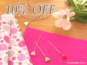 Mother's Day sale 2016 at Muumade.etsy.com - 10% off