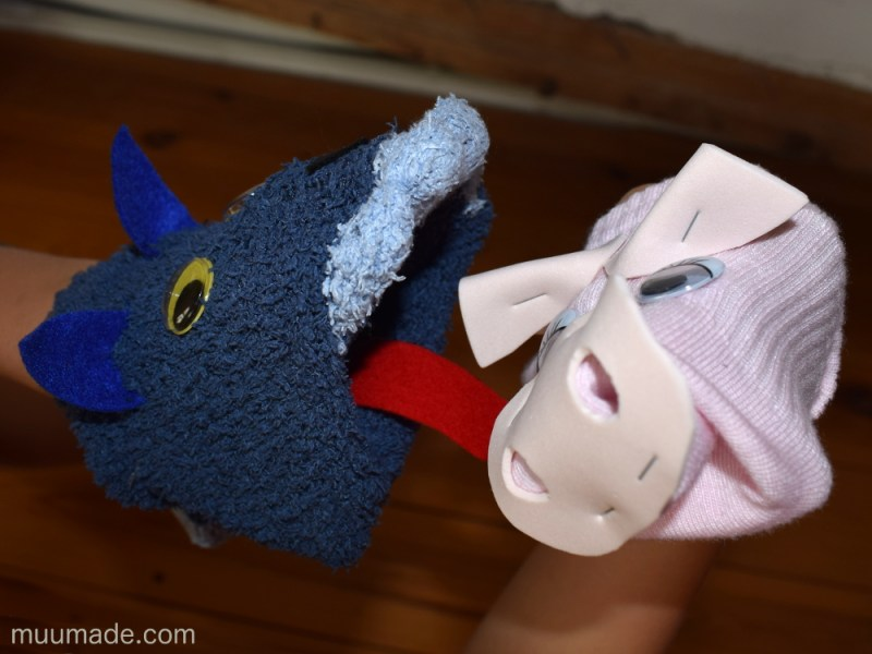 How to make a sock puppet that really eats!