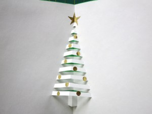 How to make a Pop-up Christmas Tree Card