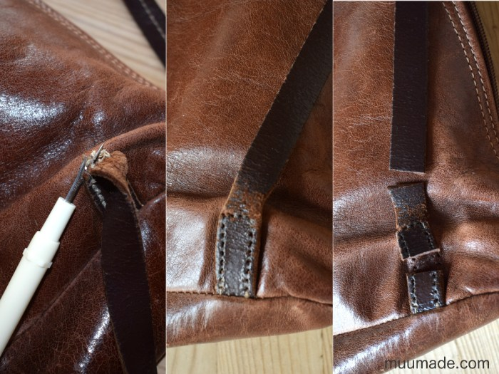 Repairing Leather Bag Straps