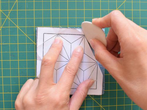DIY Sashiko Applique Patch - Muumade.com