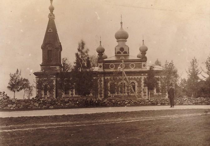 Uue-Virtsu kirik. (Hanila Muuseum)