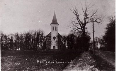Hanila kirik. (Lihula Muuseum)