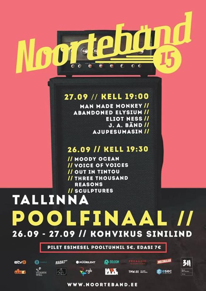 Noortebänd 2015 Tallinna poolfinaalid