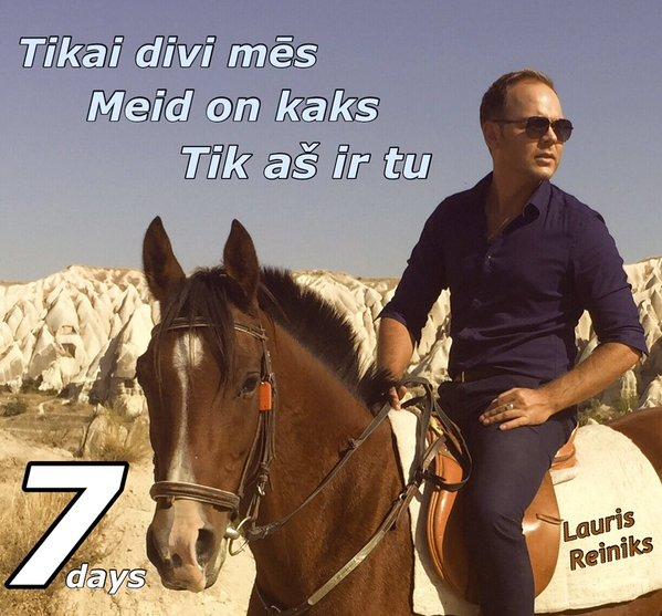 """Lauris Reiniks """"Meid on kaks"""" video 7 päeva pärast"""