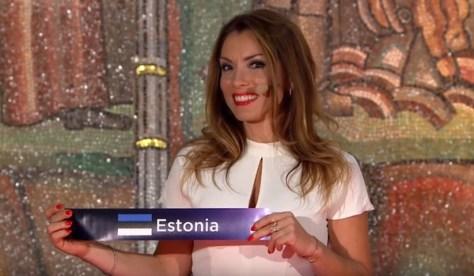 Eesti Eurovisiooni lauluvõistluse 1. poolfinaalis