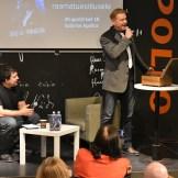 """Mart Sander esitles raamatut """"Kõhedad muinaslood"""" (foto: 4/18)"""