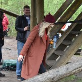 Liis Lemsalu trio Pääsküla rabas (foto: 11/15)