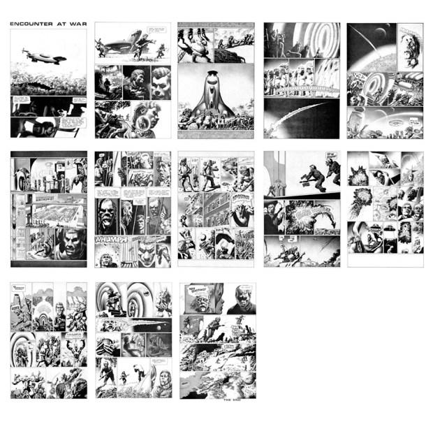 Encounters at War, 13 pgs