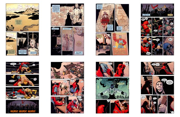 Hellboy: House of the Living Dead, 49 pgs