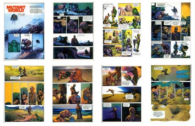 Mutant World, 1984 version, Part 2, 8 pgs