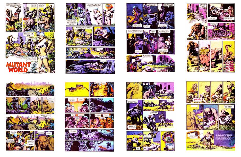 Mutant World, 1984 version, Part 4, 8 pgs
