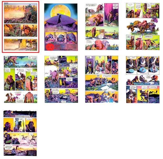 Mutant World, SPA, Part 1, 9 pgs